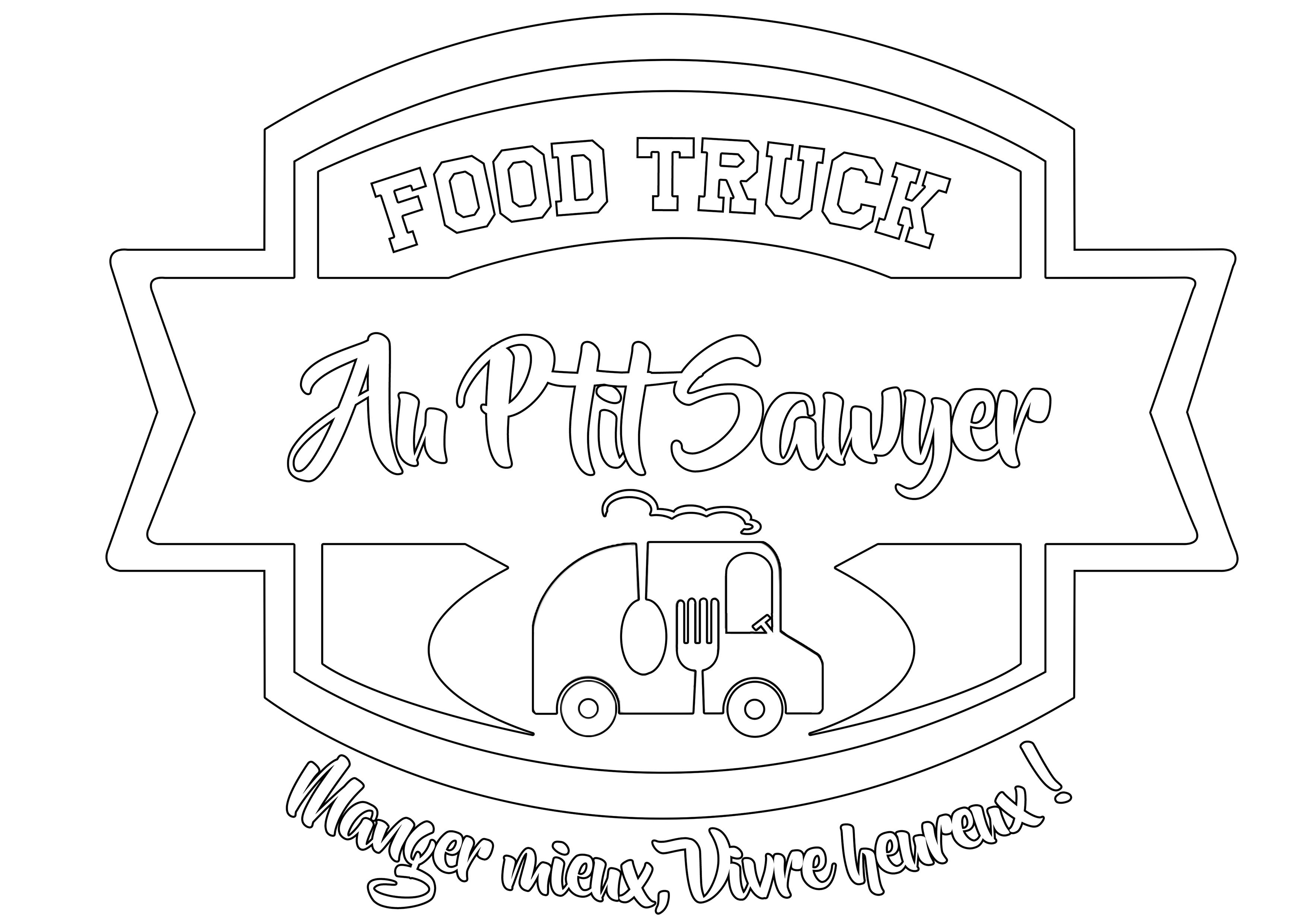 carte-menu-manger-burger-Au P'tit Sawyer - Food truck éco responsable-Strasbourg-Alsace-local-locavore-frais-fait camion