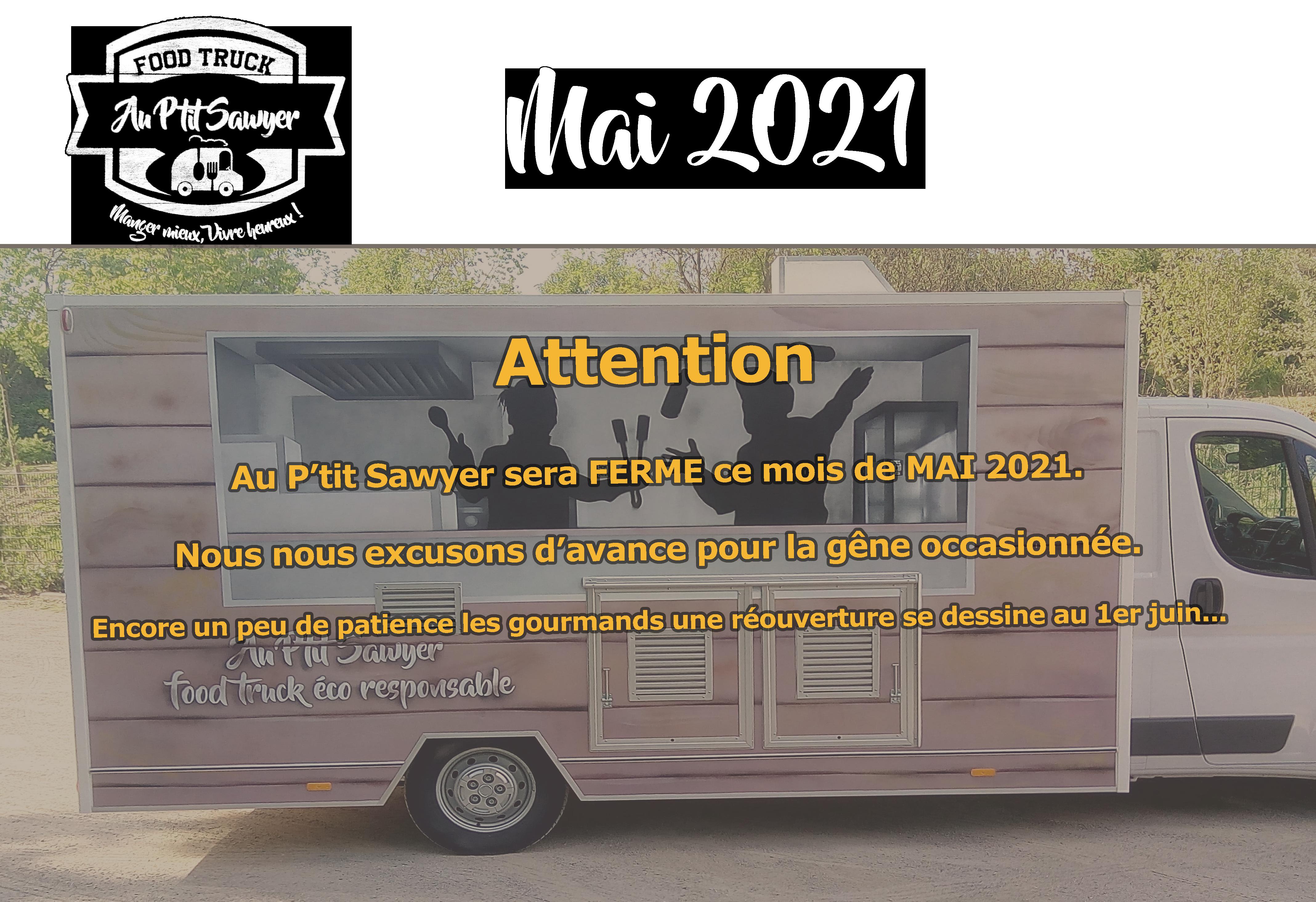 planning-semaine-Menu -manger-burger-Au P'tit Sawyer-Food truck-éco responsable-Strasbourg-Alsace-local-frais-fait camion